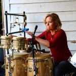 sheila with percussion